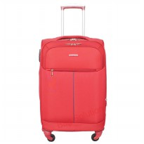 Navy Club Tas Koper Softcase 4 Roda 3862-22' Resleting Anti Tusuk - Merah