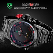 [esiafone happy sale] WEIDE Men Sport Watch with Miyota 2035 Quartz Movement and SEIKO S626 Battery
