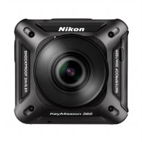 Nikon KeyMission 360 4K Action Camera - Hitam
