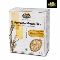 Beras Organik Berkecambah (Germinated Organic Rice / GABA Rice / Slimming, Beauty & Healthy Rice)