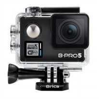 Brica B-PRO 5 Alpha Plus Edition Version 2 (AP2) Full HD 2.5K Action Camera - Hitam