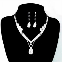 necklace earring set