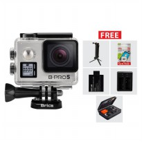 BRICA B-PRO 5 Alpha Edition Version 2S (AE2S) 4K Camera Paket Combo 3-Way Extreme - Silver