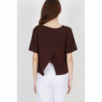 Damnel Button Top