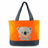 Koala Tote Bag - Merah/Orange/Ungu/Biru