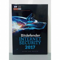 Termurah Bitdefender Internet Security 3 Users Original
