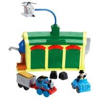 TF133 FISHER PRICE Thomas & Friends Tidmouth Sheds Discover Junction Track