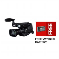Panasonic HC-MDH2 Full HD Camcorders + Gratis VBD29 Battery - Hitam