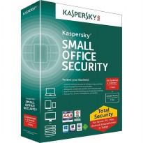 Termurah Kaspersky Small Office Security (Ksos) 1 Server + 10 Client