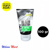 GATSBY COOLING FACE WASH OIL CONTROL CLAY LEMON 100 GRAM