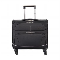 Navy Club Koper Cabin 2097/16' Hitam Roda 4(Laptop Case)