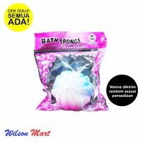 GOOD WIFE BATH SPONGE GRADIENT COLOR SPON MANDI