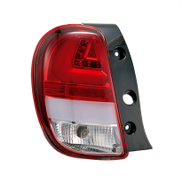 NISSAN MARCH TAIL LIGHT LED BAR RED CHROME