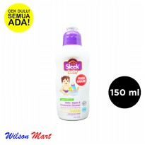 SLEEK BABY BOTTLE NIPPLE AND ACCESSORIES CLEANSER CONCENTRATE 150 ML BOTOL