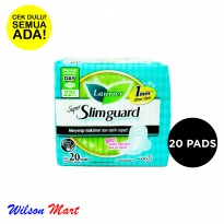 LAURIER SUPER SLIMGUARD NORMAL TO HEAVY DAY WING 22,5 CM 20 PADS