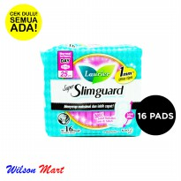LAURIER SUPER SLIMGUARD NORMAL TO HEAVY DAY WING 25 CM 16 PADS