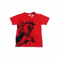 KIDS ICON - Tshirt Anak Laki-laki BATMAN with Flocking Printing detail - BM304300180