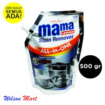 MAMA LEMON STAIN REMOVER ALL IN ONE 500 GRAM POUCH