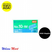 MAX STAPLES NO 10-1M 5 MM ISI 1000