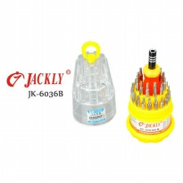 Jackly 31 in 1 Obeng Set - JK-6036B