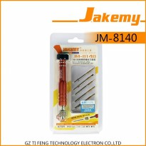 Jakemy 6 in 1 Professional Screwdrivers Repair Tool Kit for Smartphone - JM-8140
