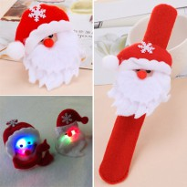 Gelang Christmas Lighting Red Santa Claus KB51810