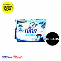 NINA ANION NATURAL SCENTED 27 CM 10 PADS