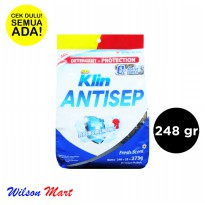 SO KLIN ANTISEP FRESH SCENT 248 GRAM DETERJEN BUBUK DETERGENT PROTECTION