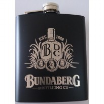 Hip Flask 7oz BUNDABERG