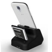 Dual Charging Dock for Samsung Galaxy Note 2 7100 - Black