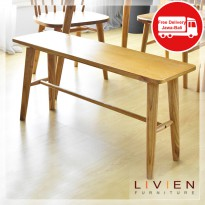 KURSI  BANGKU MAKAN - RIBE BENCH - LIVIEN Furniture