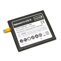 Battery Replacement for LG Nexus 5 / D820 / D821 2050mAh 3.8V - Black
