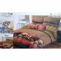 Sprei Lady Rose Disperse 120 2in1 Sorong - Bear