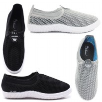 Dr. Kevin Women Sneakers Slip On  43213 - (2 Color Options)