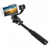 Feiyu Tech Tongsis SmartStab 2-Axis Selfie Gimbal for Smartphone - Black