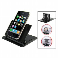 Smartphone Holder Dashboard Mobil - Black