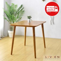 MEJA MAKAN - RIBE DINING TABLE 860 - Tanpa Chair