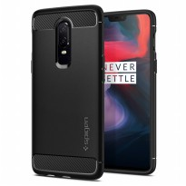 Spigen OnePlus 6 Case Rugged Armor - Black