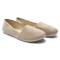 Dr. Kevin Women Flat Shoes Slip On 5310 - Khaki
