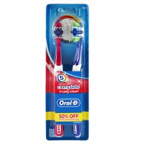 Oral-B Sikat Gigi Complete 5 Way Clean Isi 2
