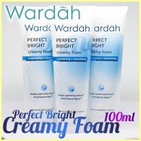 WARDAH PERFECT BRIGHT CREAMY FOAM 100 ML