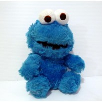 Boneka Cookie Monster Original Sesame Street Universal Studio Singapore 18 Cm