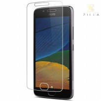 Zilla 2.5D Tempered Glass Curved Edge 9H 0.26mm for Motorola Moto G5