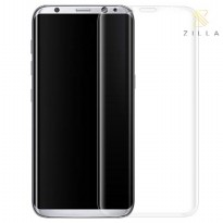 Zilla 3D Premium Tempered Glass Curved Edge 9H 0.26mm for Samsung Galaxy S8 - Transparent