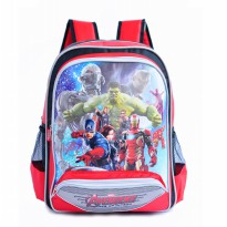 Young Soul Kid Backpack Avangers - Red