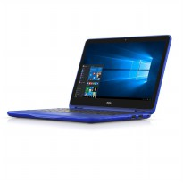 Dell Inspiron 11-3168- RAM 4GB - Intel Pentium QuadCore N3710 - 11.6'/Touch - Win10 - Biru