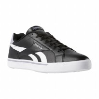 Sepatu Sneakers Olahraga Casual Reebok Royal Complete 2LL Men's Shoes- BlackWhite CN7398