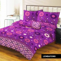 Lady Rose - Sprei Queen Lembayung
