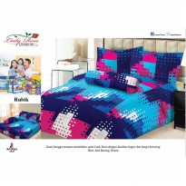Lady Rose - Sprei King Rubic