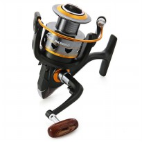 Gulungan Pancing DK11BB - 6000 Series Metal Fishing Spinning Reel 11 Ball Bearing - Golden